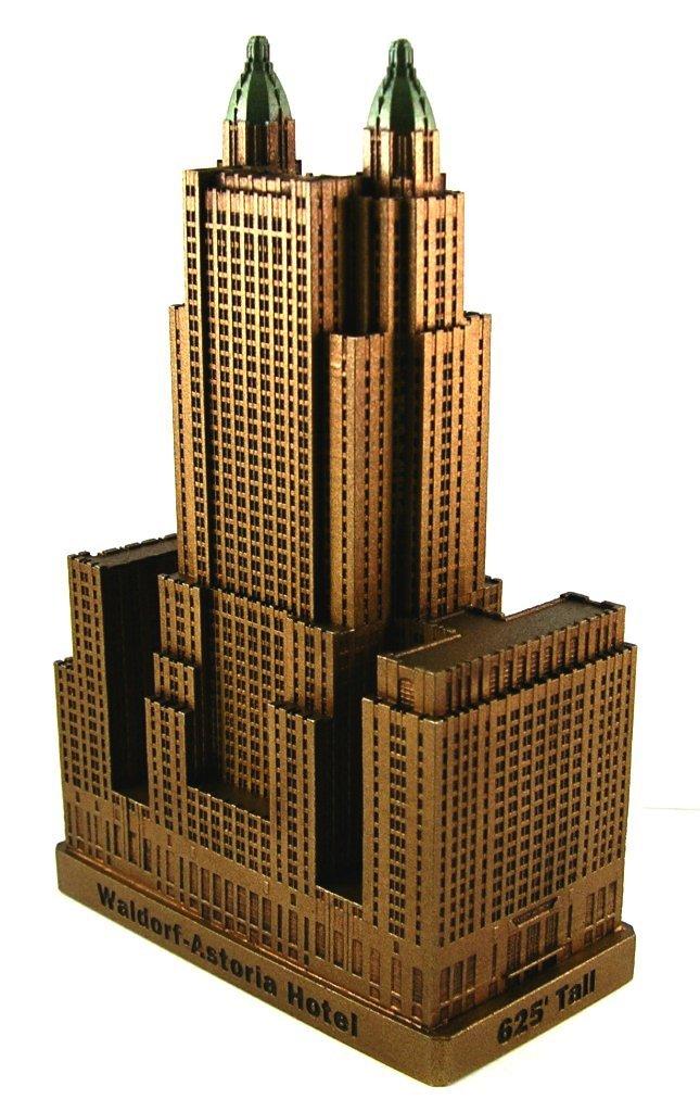Miniature buildings infocustech waldorf astoria new york for Waldorf astoria antiques